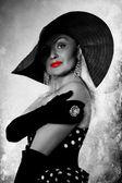 ファッションの肖像画 — ストック写真