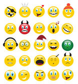 Yellow emotions — Stock Vector