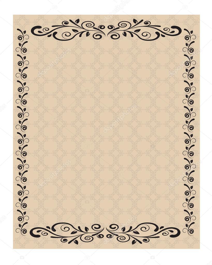 comment decorer une feuille de papier