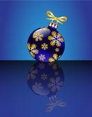 Christmas ball — 图库矢量图片