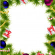 Christmas frame — Vector de stock  #15515985