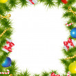Christmas frame — Stock Vector #16890383