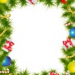 Royalty-Free Stock Векторное изображение: Christmas frame