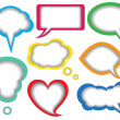 Dialogue bubbles - Stock Vector