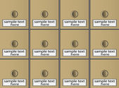 File cabinet — Stock Vector
