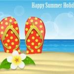 Summer holidays — Stock Vector #35097851