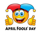 April Fools' day — Stock Vector