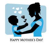 Happy Mother's Day! — Vector de stock