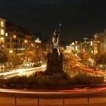 The Wenceslas Square, Prague — Stock Photo