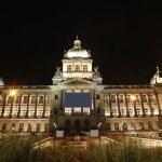 Prague National Museum — Stock Photo