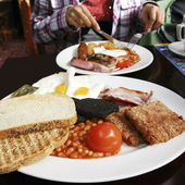 Full Scottish Breakfast — Stock Photo