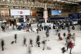 London Victoria Station — Stock Photo