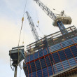 High rise construction site — Stock Photo #13597350