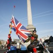 Stock Photo: Poppy Appeal on Remembrance Day
