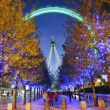 London Eye, Millennium Wheel — Stock Photo