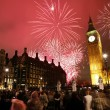 Stock Photo: New Year's Eve Fireworks