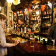 Inside view of a English pub — Stock Photo #15870771