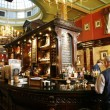 Inside view of a English pub — Stock Photo #15870879
