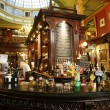 Inside view of a English pub — Stock Photo #15870911