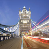 Tower bridge di notte — Foto Stock