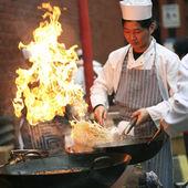 2007, obchody chińskiego nowego roku — Zdjęcie stockowe