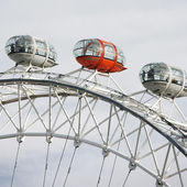 London Eye, Close up, Millennium Wheel — Stock Photo