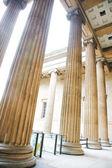 Column of British Museum — Stock Photo