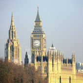 Skyline von london, westminster palace — Stockfoto