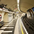 Stock Photo: Inside view of London Underground