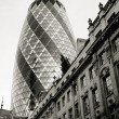 London Skyscraper, 30 St Mary Axe also called Gherkin — ストック写真