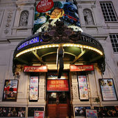 London Theatre, Criterion Theatre — Stock Photo