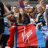 2013 londýn maratónu — Stock fotografie
