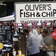 Stock Photo: Food Stall in Camden Market