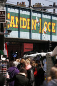 Street view of Camden Market — Stock Photo