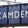 Stock Photo: London Street Sign, Camden