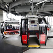 London Transport Emirate Air Line, London Thames Cable Car — Stock Photo
