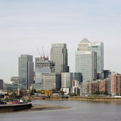 London skyline, inclouding skyscrapers — Stock Photo