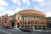Outside view of Royal Albert Hall on sunny day — Stock Photo