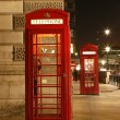 London Red Phone Booth — Foto Stock
