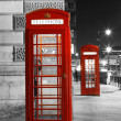 London Red Phone Booth — 图库照片 #28347321