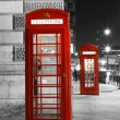London-rote Telefonzelle — Stockfoto #28347321