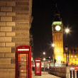 London Red Phone Booth — 图库照片 #28347371