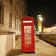 London Red Phone Booth — Stock fotografie