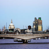 London Skyline, Waterloo Bridge — Stock Photo