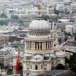 St Paul's Cathedral, Bird Eye View — Stock Photo