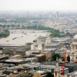 London skyline overlooking thames river — Stock Photo #36202023