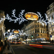 2013, Regent Street with Christmas Decoration — Stock Photo #36415493