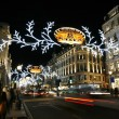 2013, Regent Street with Christmas Decoration — Stock Photo