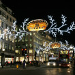 2013, Regent Street with Christmas Decoration — Stock Photo #36415501