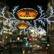 2013, Regent Street with Christmas Decoration — Stock Photo #36416085